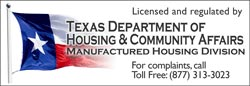 Texas Housing Department Logo